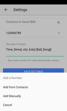 Simple Location to SMS screenshot 2