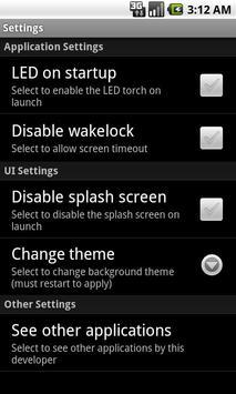 SuperLight Flashlight screenshot 1