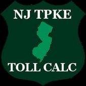 NJ Turnpike Toll Calculator icon