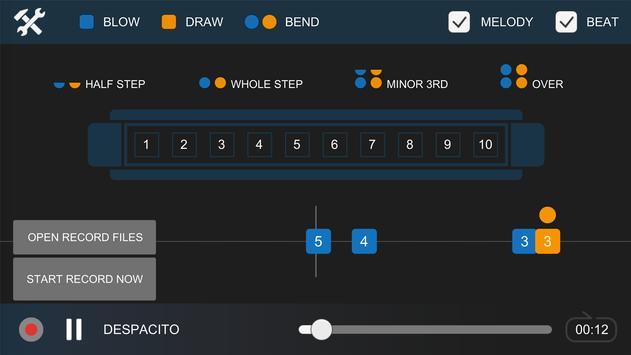 Harmonica Tab Pro screenshot 1