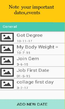 My Important Movements[Meetings,Bills,Appointment] screenshot 1