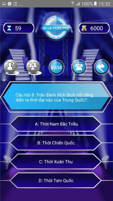... Ai Là Triệu Phú - 2018 Phiên bản âm thanh screenshot 5 ...