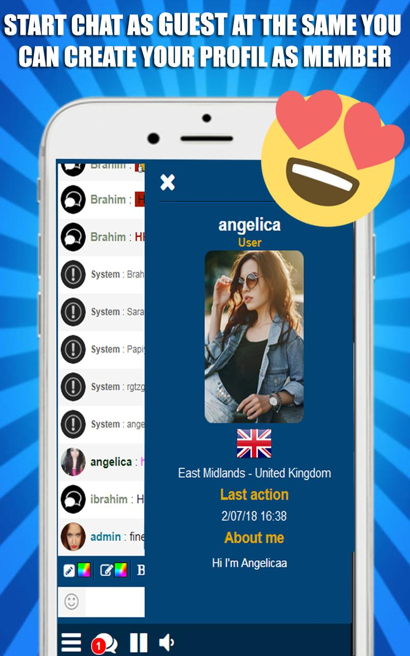 Uk Chat : British Chat App & UK Dating App for Android