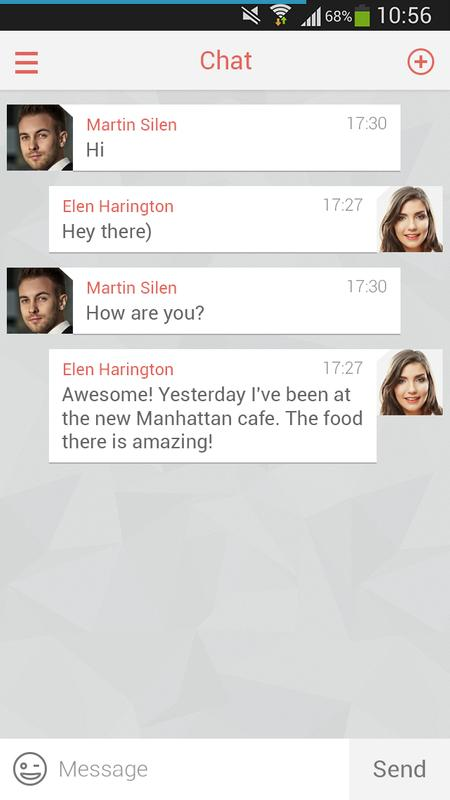 ... Flirt: Online Dating & Chats apk screenshot ...