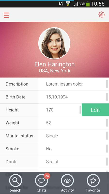 Flirt: Online Dating & Chats APK Download - Free Social APP for ...