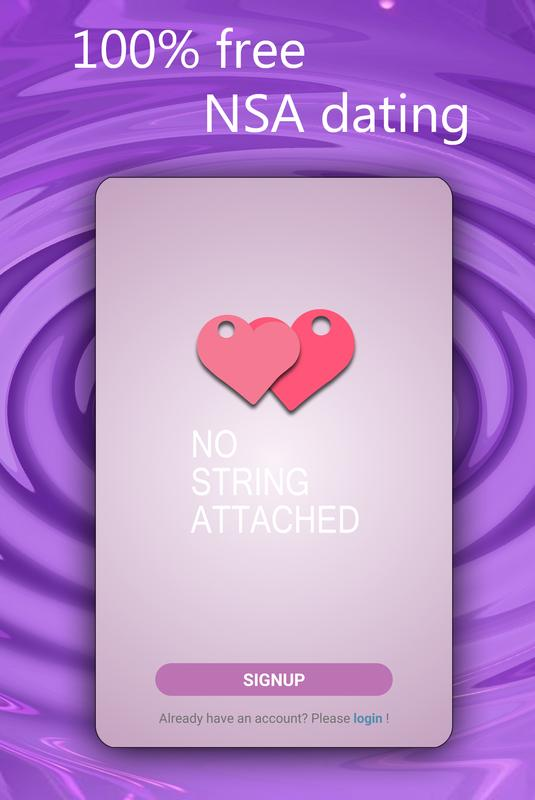 No strings attached dating apps
