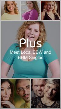 Free BBW Dating for BBW & BHM poster