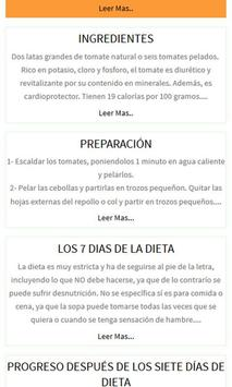 Dieta Quema grasa ảnh chụp màn hình 1