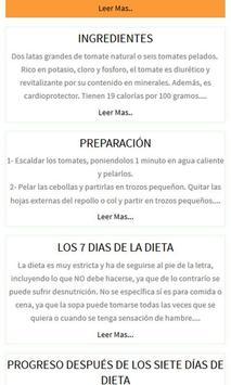 Dieta Quema grasa Screenshot 1