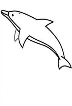 Comment dessiner un dauphin screenshot 2