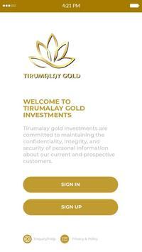 Tirumalay Gold screenshot 1