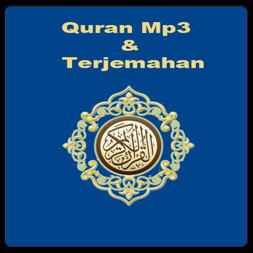Quran Mp3 & Terjemah Indonesia poster