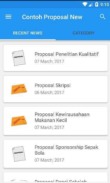 Contoh Proposal Terbaru For Android Apk Download