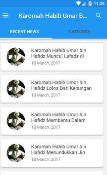 Karomah habib umar bin hafidz poster