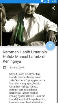 Karomah habib umar bin hafidz apk screenshot
