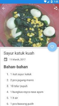 aneka resep masakan berkuah screenshot 2