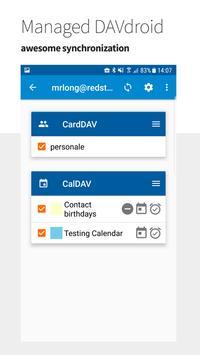 Managed DAVdroid screenshot 2