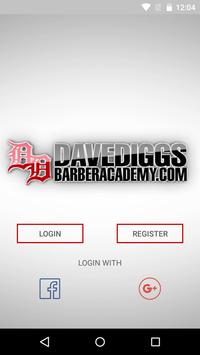 BarberAcademy by Dave Diggs poster