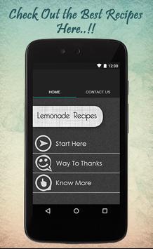 Lemonade Recipes Guide poster