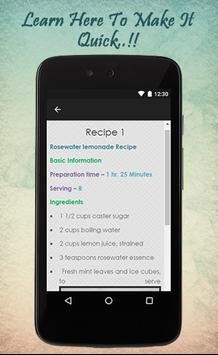 Lemonade Recipes Guide apk screenshot