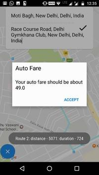 Fair- Auto Fare screenshot 1