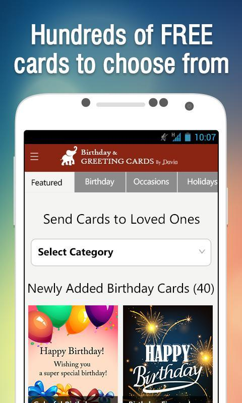 Free Birthday Greeting Cards By Davia Apk Download Free