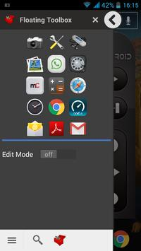 Floating Toolbox (Shortcuts) screenshot 5