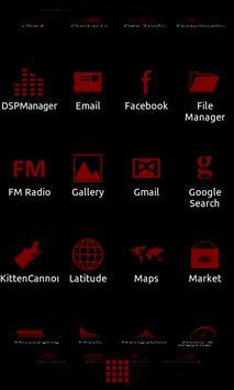 Minimalist_Maroon - ADW Theme apk screenshot