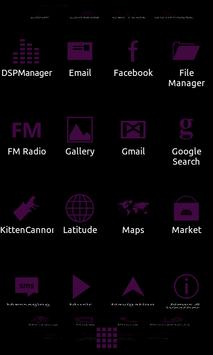Minimalist_Purple - ADW Theme apk screenshot