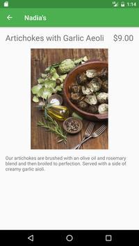 Nadia's Garden Restaurant apk screenshot