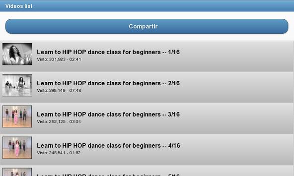 Baile De Hip Hop captura de pantalla de la apk