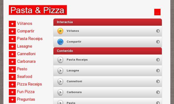 Pasta & Pizza screenshot 6