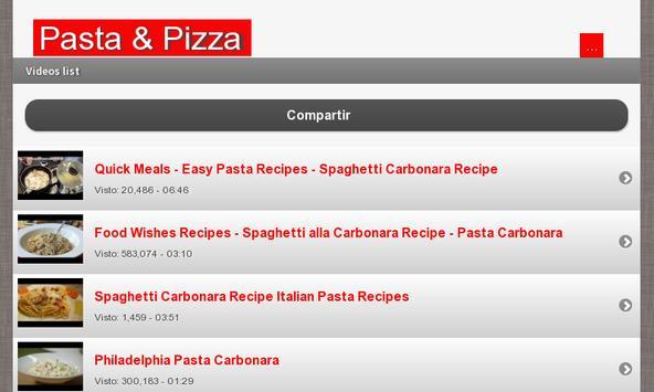Pasta & Pizza screenshot 9