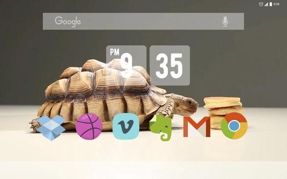 Tortoise And Tiny Panc Live WP apk screenshot