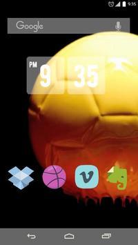 Bright Football Live Wallpaper apk screenshot