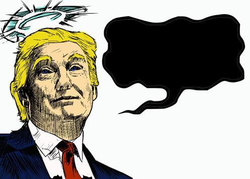 Donald Trump meme coloring book parody screenshot 2