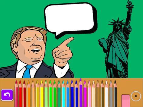 Donald Trump meme coloring book parody screenshot 4