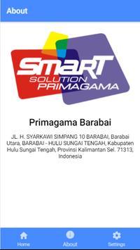 Absen Siswa Primagama Barabai screenshot 1