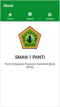 Absen Siswa SMAN 1 PANTI apk screenshot