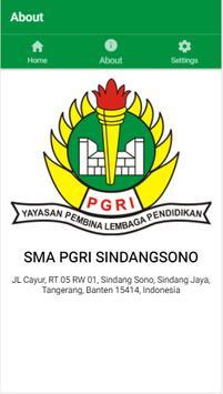 Absen Siswa SMA PGRI Sindang Sono apk screenshot
