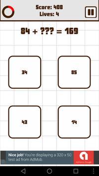 Math Quiz Challenge screenshot 2