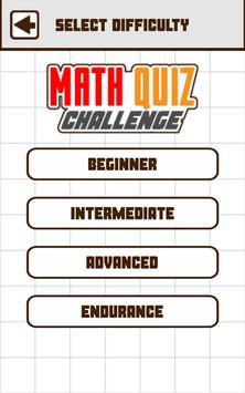 Math Quiz Challenge screenshot 5