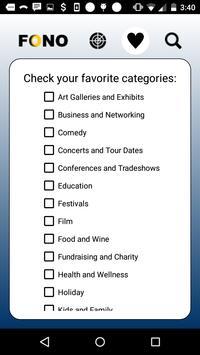 FONO Events apk screenshot