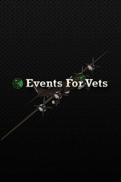 Events For Vets poster