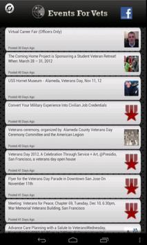 Events For Vets apk screenshot