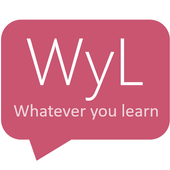 Whatever you learn. WyL icon