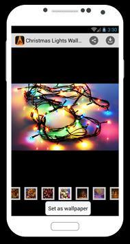 Christmas Lights Wallpapers apk screenshot
