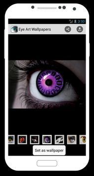 Eye art wallpapers poster