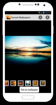 Sunset Wallpapers apk screenshot
