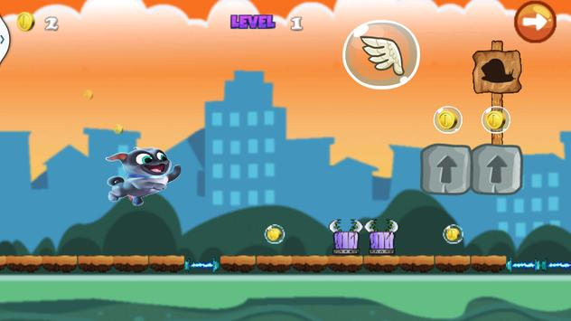 puppy super dog Run Game pals poster